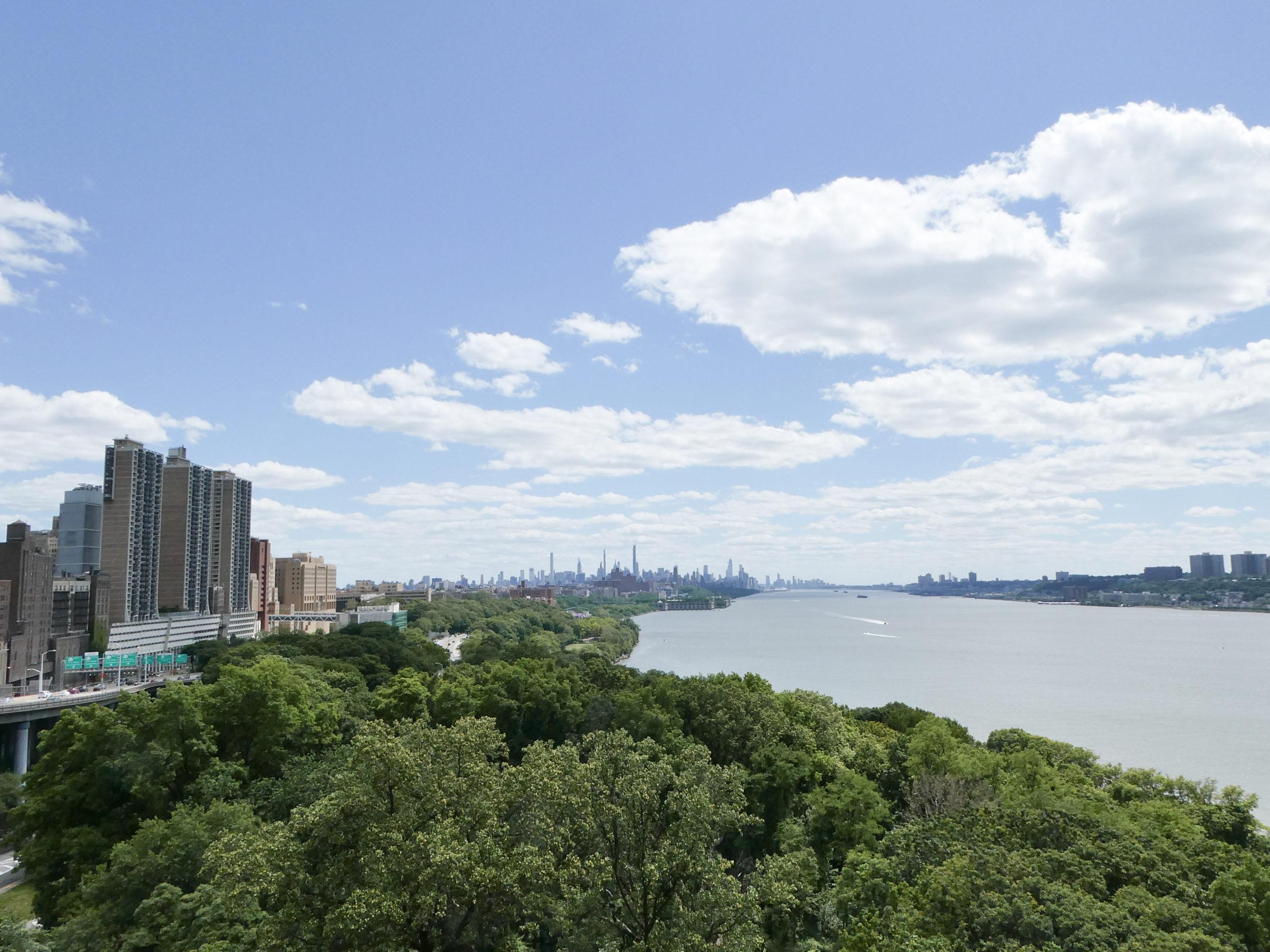 View of Manhattan from the George Washington Bridge