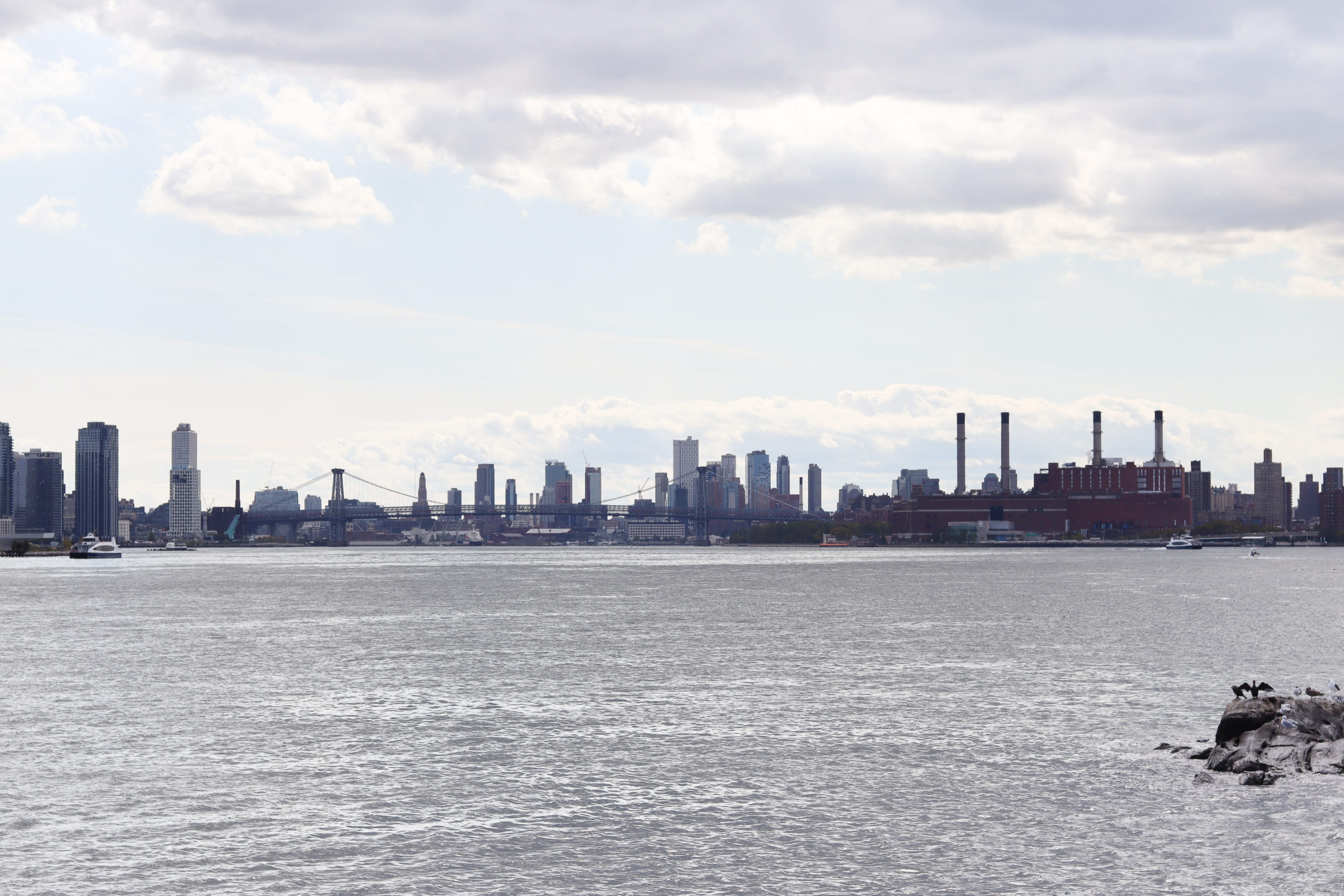 New York City Skyline from Roosevelt Island