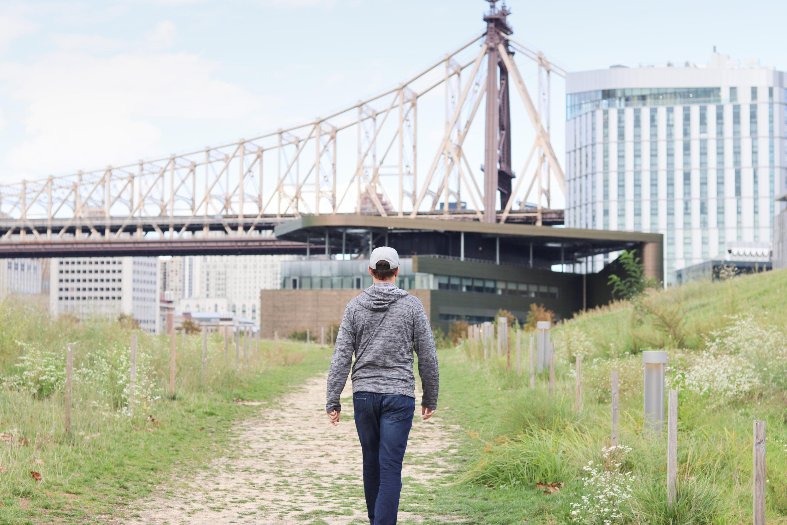 Roosevelt Island View of the Queensboro Bridge