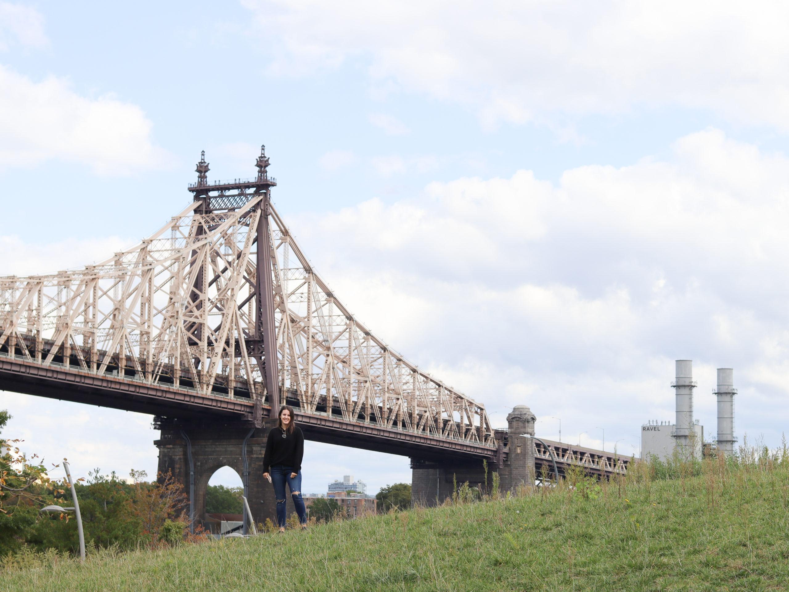 Roosevelt Island View of Queensboro Bridge