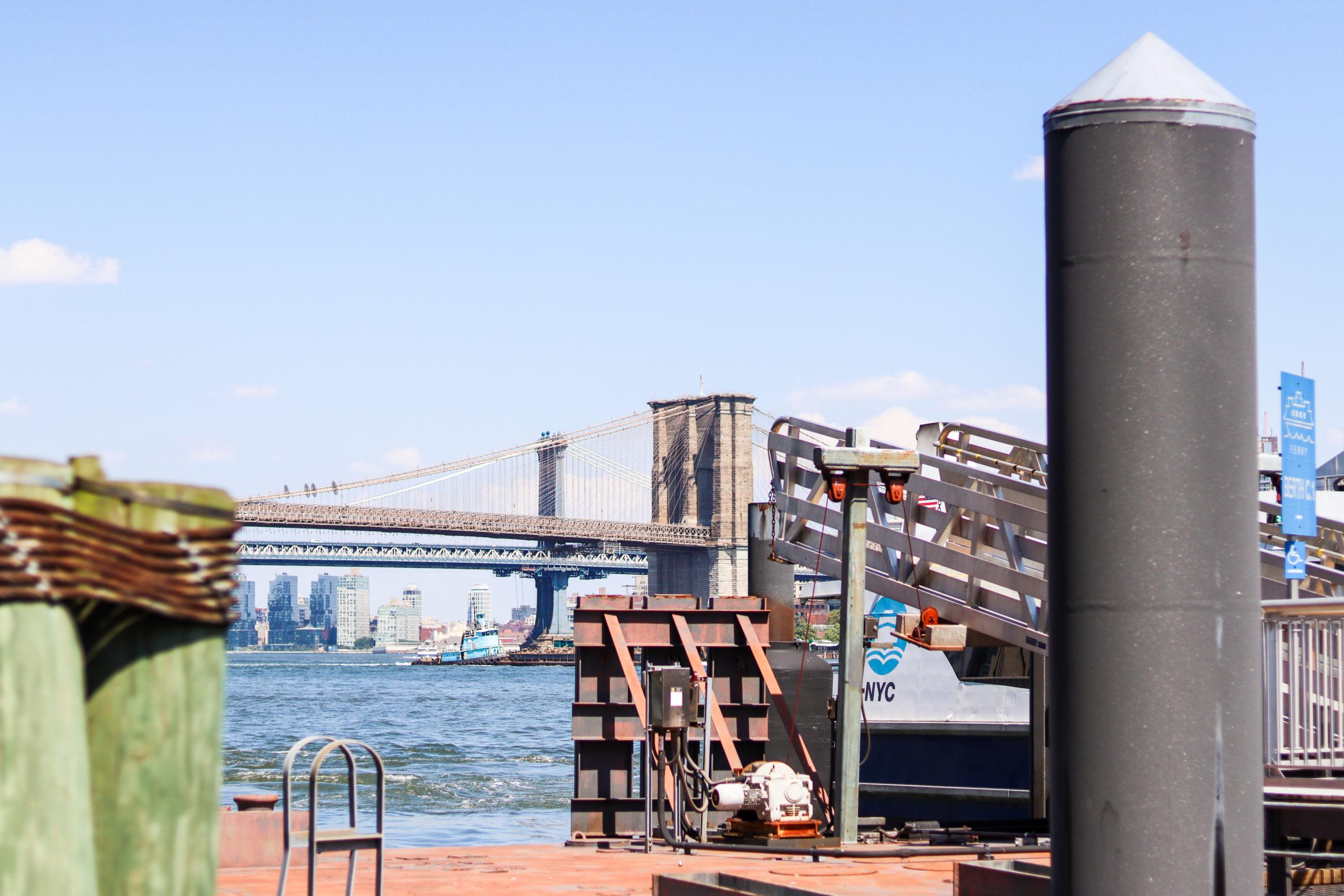 NYC Ferry docks