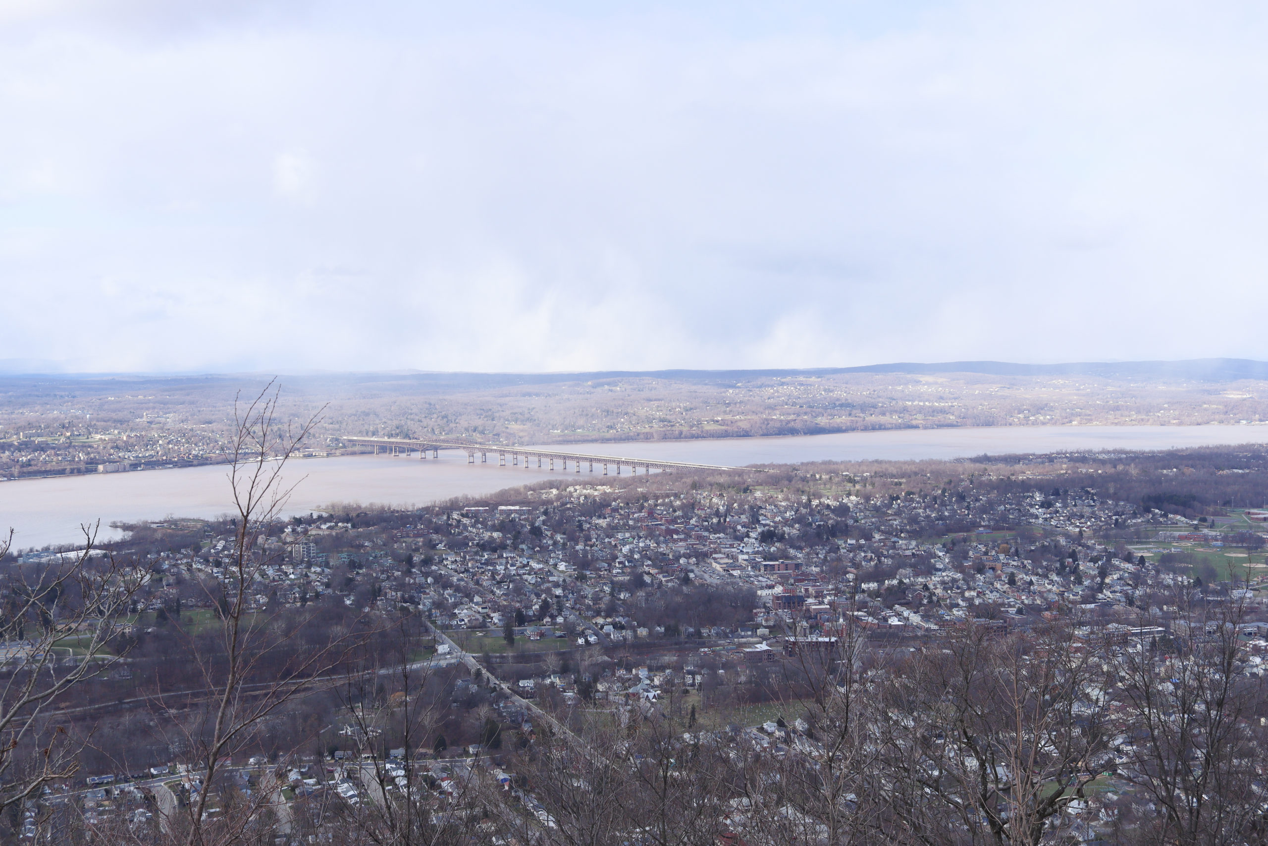 View from Mount Beacon Fire Tower hike