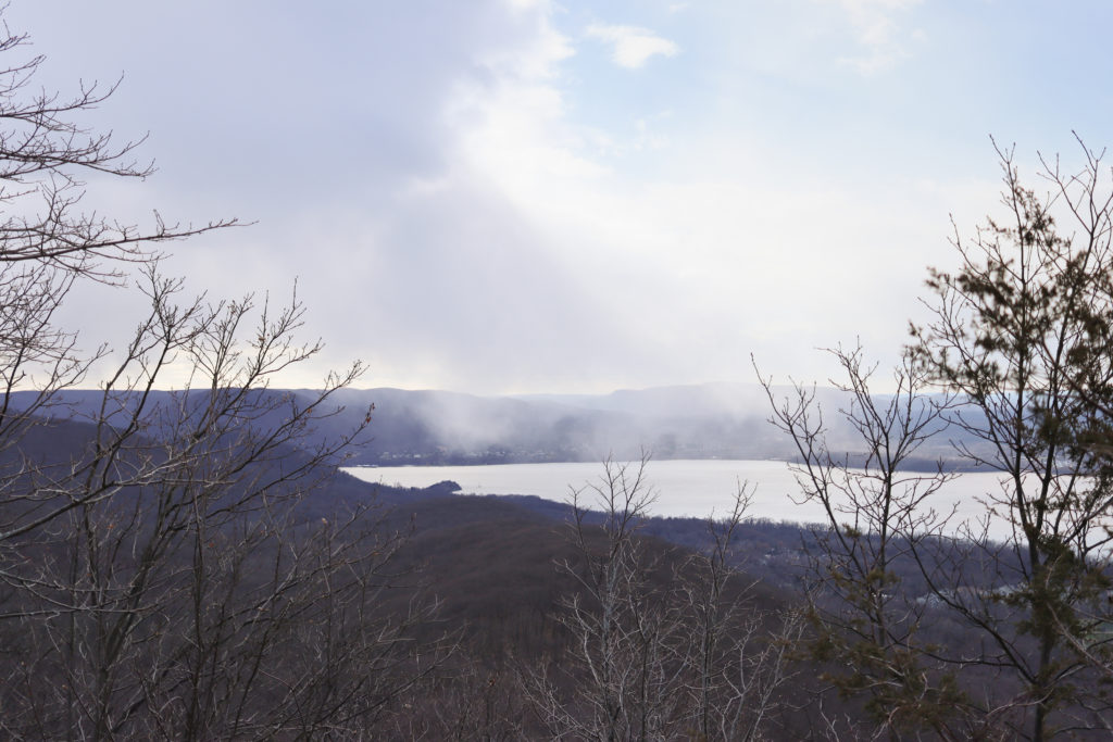 View from the top of the Mount Beacon hike