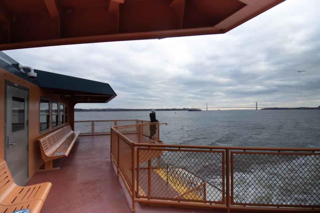 Staten Island Ferry Viewing Platform