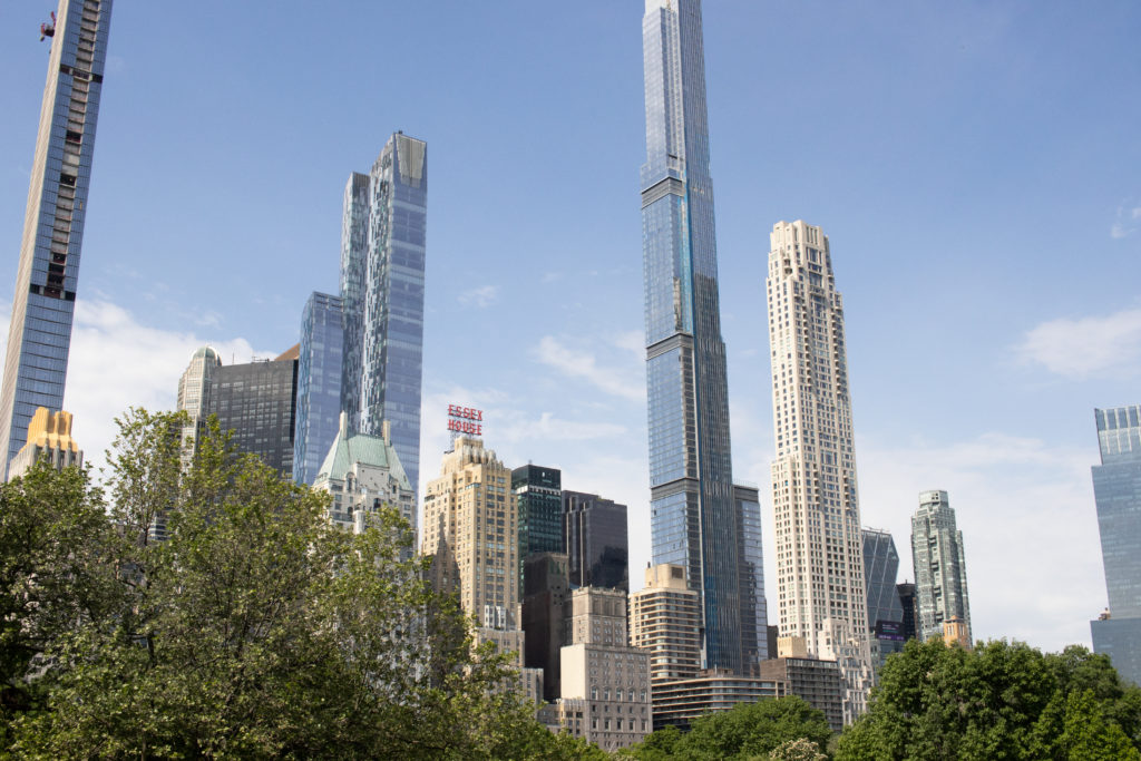 Midtown skyline from Central Park