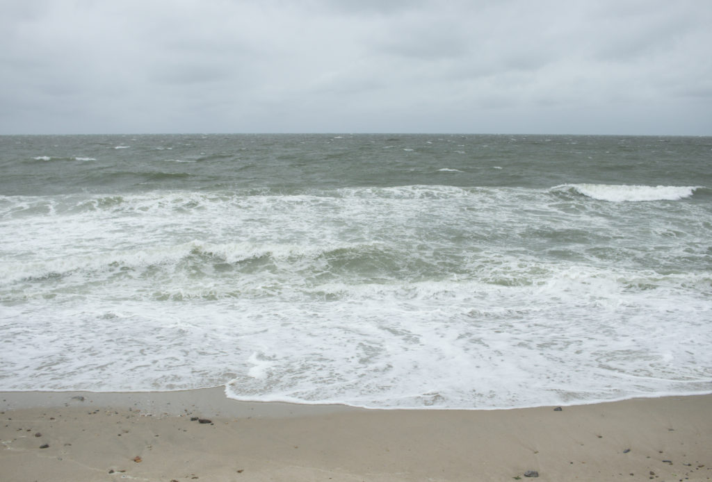 A view of the shoreline at one of the Martha's Vineyard beaches
