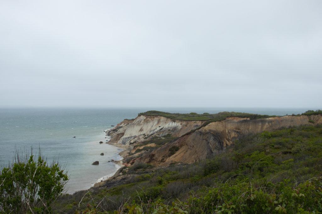 Aquinnah Cliffs on Martha's Vineyard