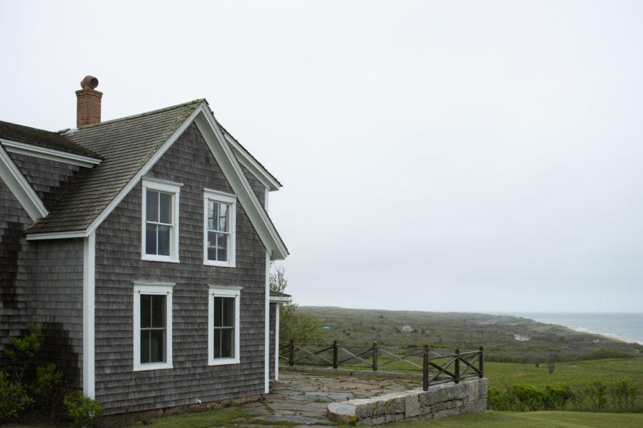 House overlooking a beach in Martha's Vineyard