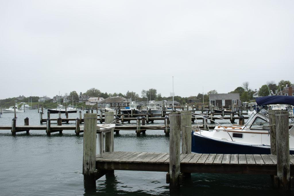 View of Edgartown harbor in Martha's Vineyard