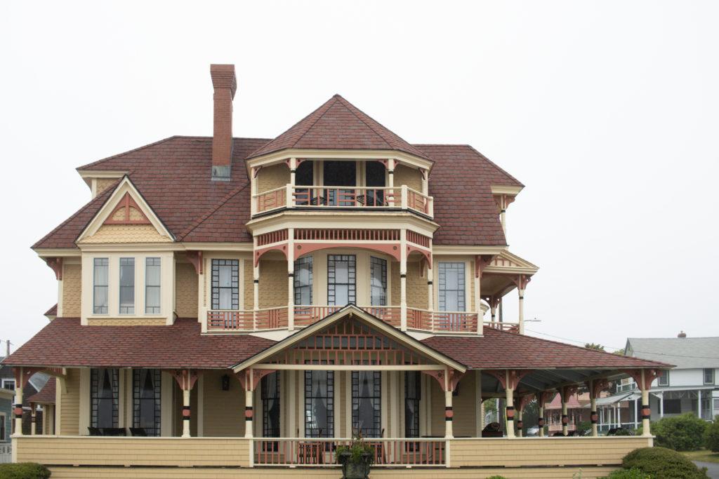 Gingerbread house in Oak Bluffs, Martha's Vineyard