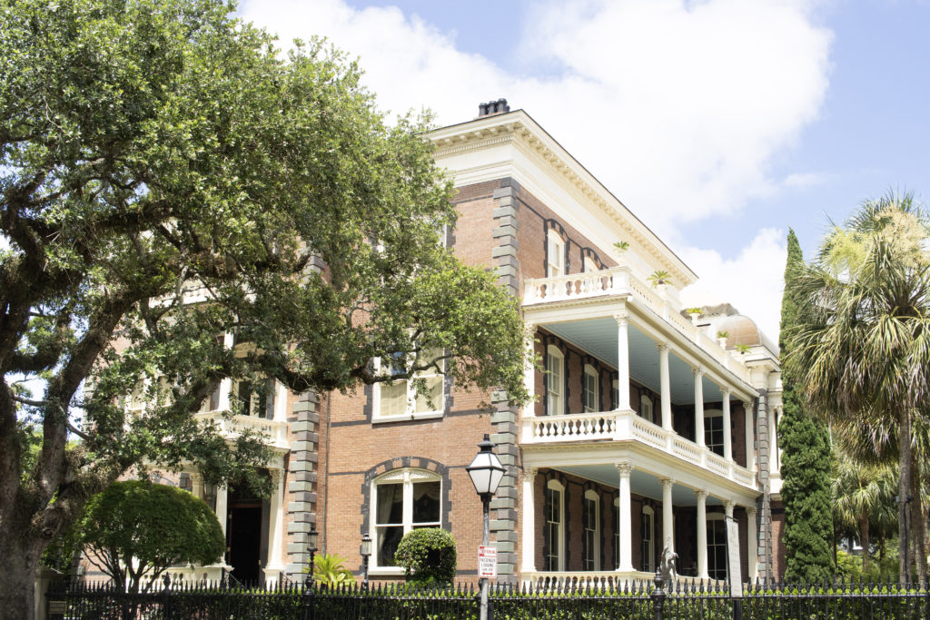 Historic houses in Charleston, to be seen on a Charleston three-day itinerary