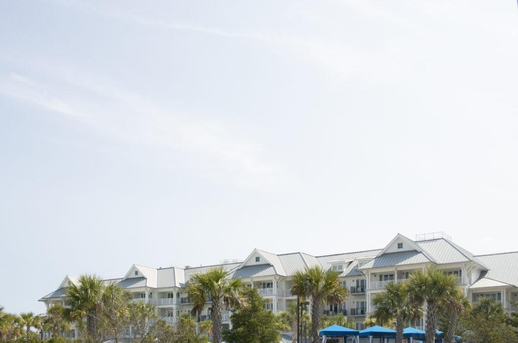 View of the Charleston Harbor Marina and Resort